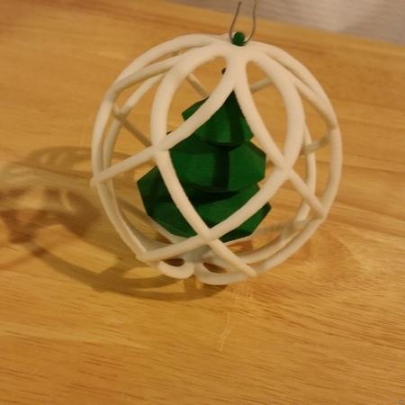 Tree Globe Ornament