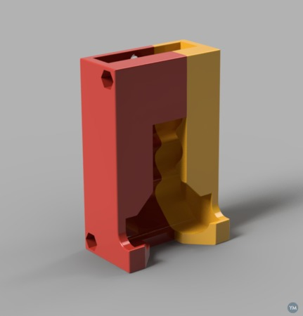 Standing / hangable FIFO battery dispenser for AAA batteries