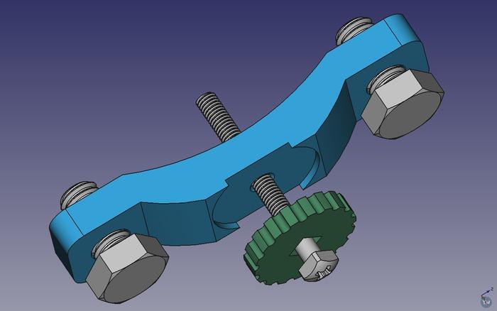 X axis belt tensioner mod