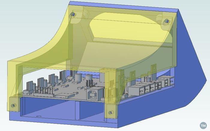 SmoothieBoard Enclosure with Fan