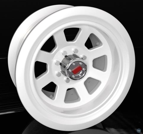 1.9 RC Beadlock Truck Wheel with Hubcap