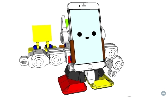 MobBob V2 Remix Upgrade - Smart Phone Controlled Robot