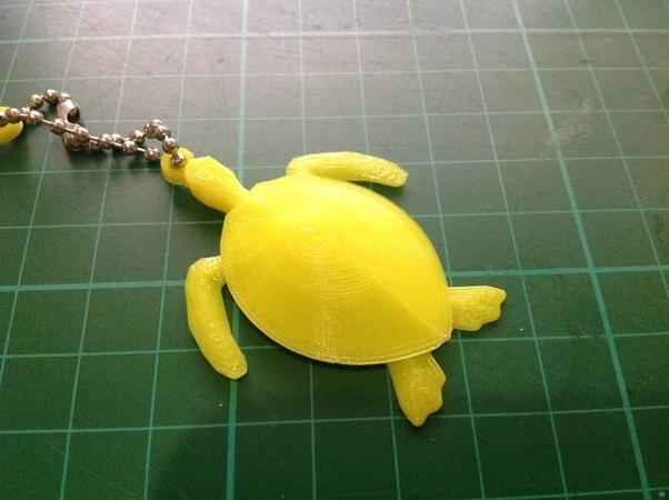 Remix Sea Turtle into Keychain