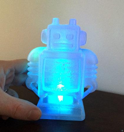 Ultimaker Robot - Tea light re-mix