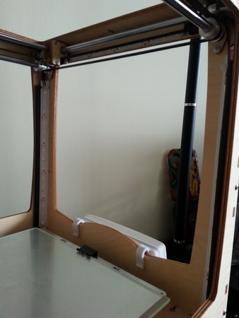 LED strip mounting beam
