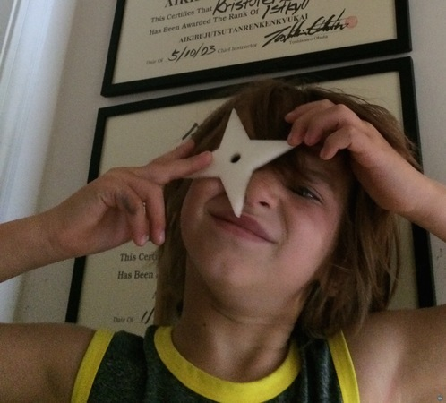 toy throwing star