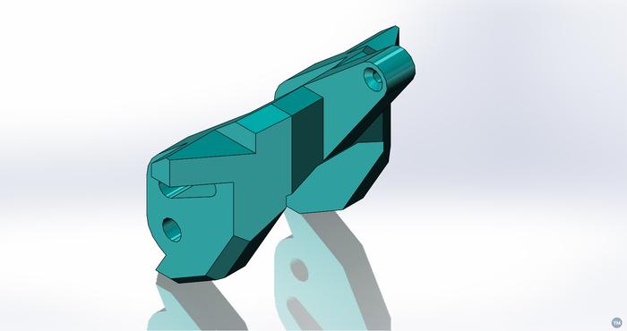 Dikiş makinası mafsal plastik parçası numune resmi