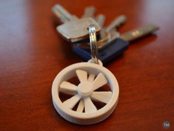 Key Chain Propeller
