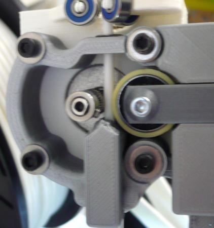 Ultimaker 2 Straight tube flexible filament spool holder