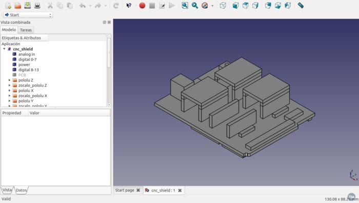 arduino cnc shield model