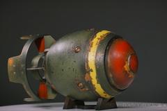 006 3 D Printed Fallout Mini Nuke Prop
