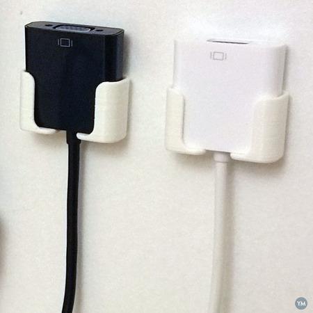 VGA Adapter wall holders