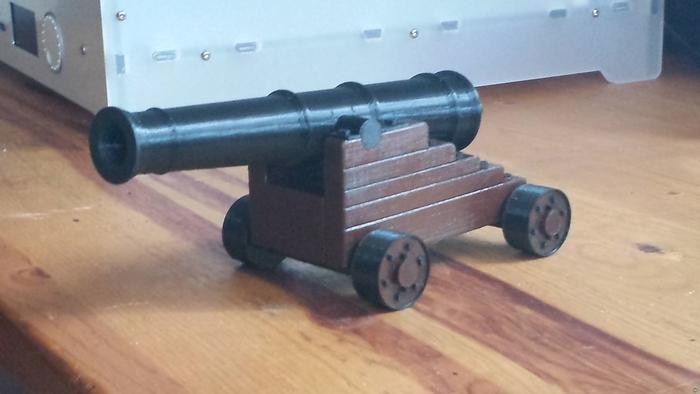 1740 Bailie Pattern 18 pound Naval Cannon