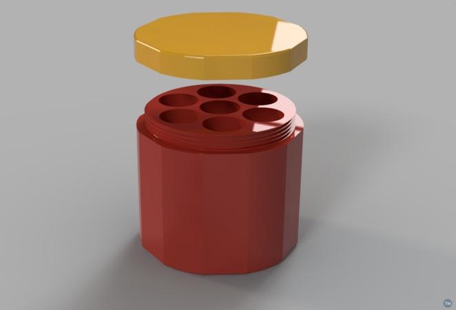 Sealable AA battery box