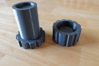 Carousel thumb paper pot tool