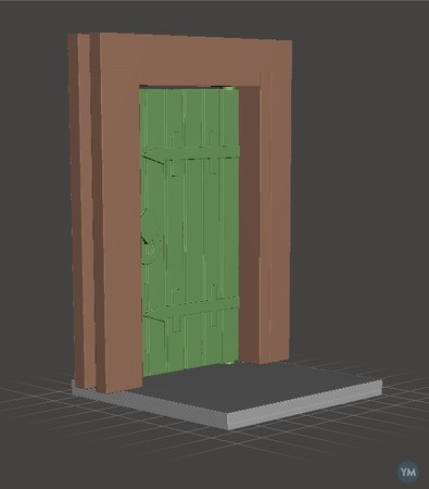 Clips and Doors for building with cardboard