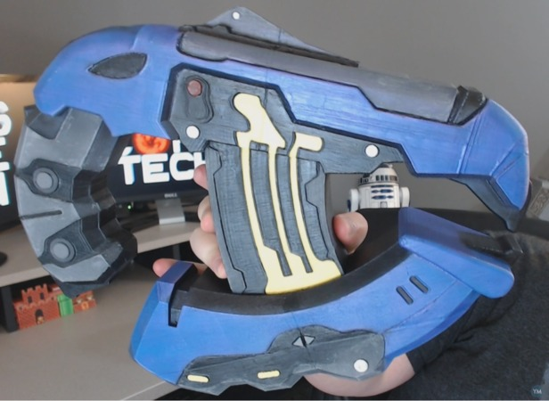 Full Sized Halo Plasma Pistol