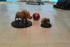 Boar And Giant Boar