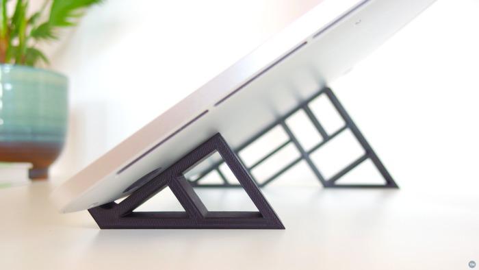 The geometric stand for MacBook Pro Retina