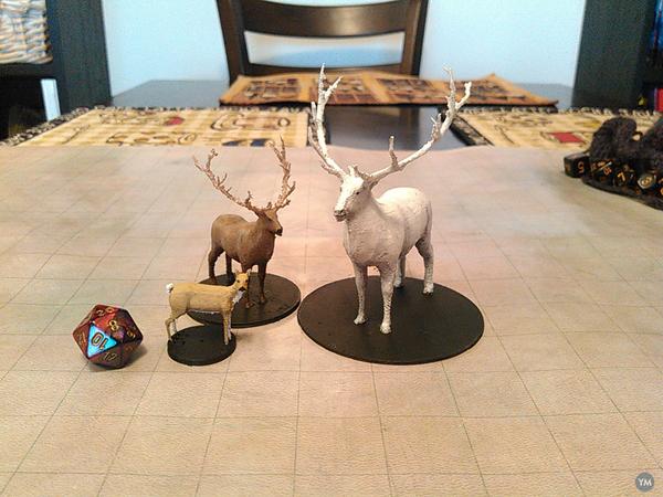 Deer, Elk, and Spirit Elk