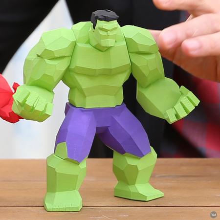 Low Poly Hulk v2