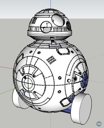 BB-8 : Motorized and Remote Controlled
