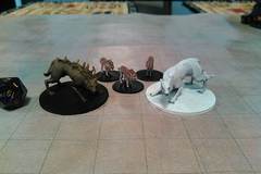 Dire Wolf  Wolves  And Winter Wolf