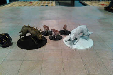 Youmagine Wolves And Worgs For Your Tabletop Game By Harrison