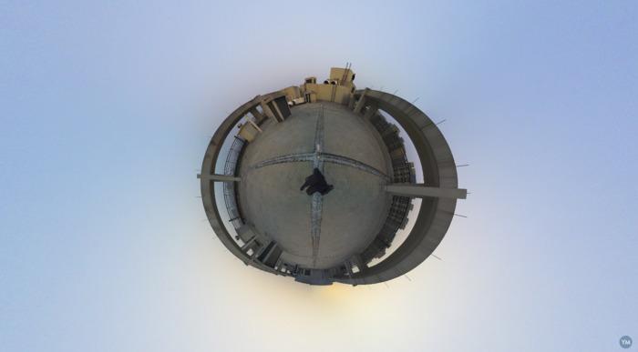 Single camera VR panorama mount Gopro/Xiaoyi