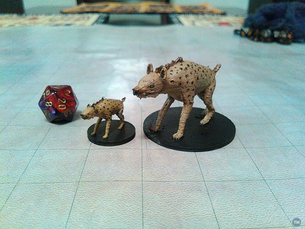 Hyena and Giant Hyena