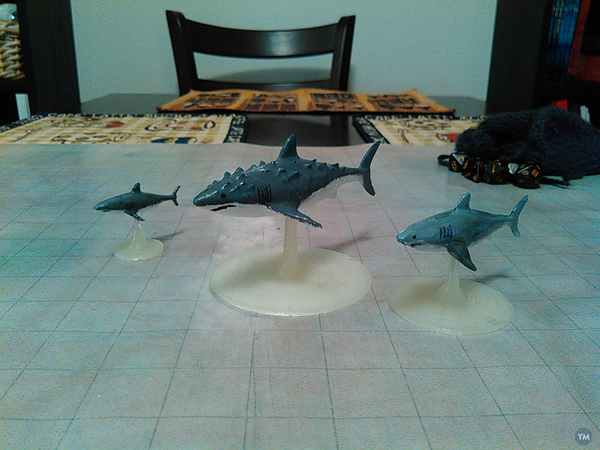 Sharks for Tabletop Gaming!