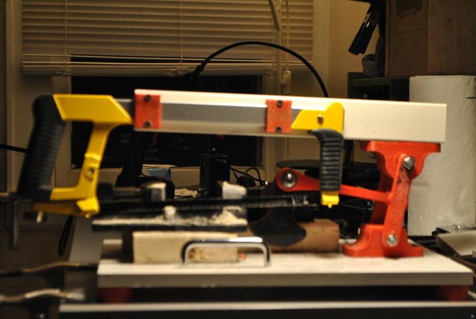 Power Hacksaw 3D Printed