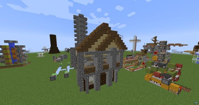 Minecraft House (Advanced)