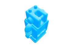 Rendering of UltimakerRobot_support.stl