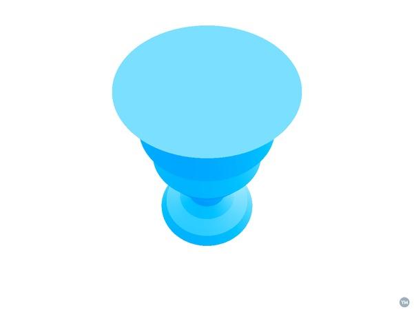 Vase or Goblet from Inkscape profile
