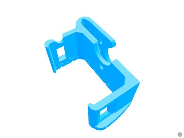 Belt clip for Zoom H4n field recorder Mark II