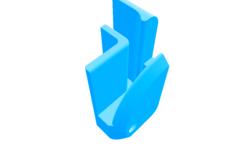 Printrbot Simple Corner Accessory Mount- Drop In