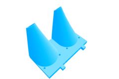 Printrbot Plus 1404/2.4 Dual Extruder Fan Shroud