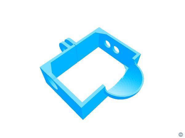 Audio frame for GoPro 3
