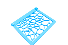 Rendering of Deckel Voronoi3 Q3d