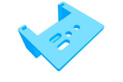 Rigid3D 3D Yazıcı X Eksen Kablo Bağlantı Kutusu