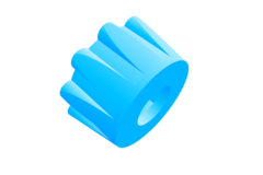 Filament tensioner knob