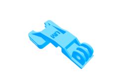 Rendering of Ultimaker 2 Platform Gopro Mount  Repaired