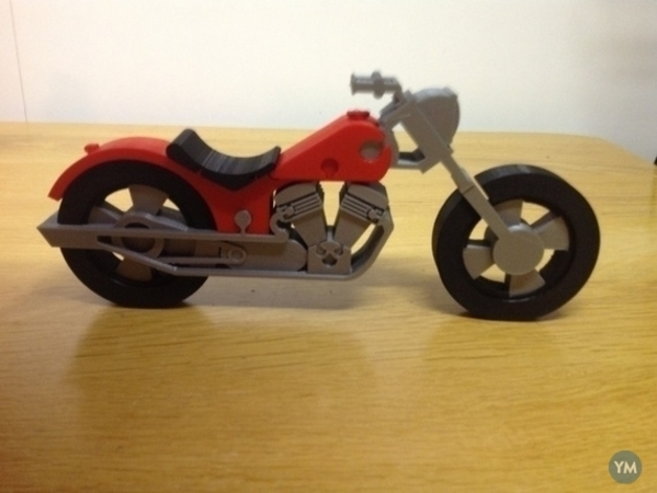 Jigsaw Motorbike
