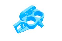 Dual J Head Extruder - W/ Servo Mount - W/ Extruder Fans