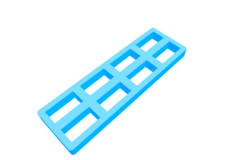 Battery tray for nCpx, nQx batteries
