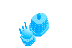 Dalek 2015 Scale 1/2
