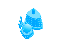 Rendering of dalek3.stl