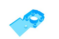 Hexagon mount for Sli3dr