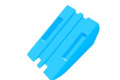 Rendering of Lichtsensor Halter Waschmaschine V4